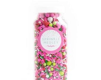 Sweetapolita Strawberry Social Sprinkle Mix 5.8 oz