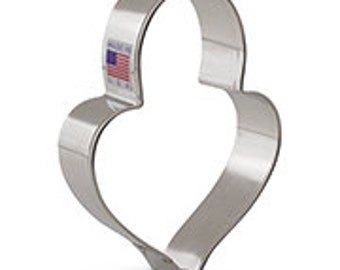 Lilaloa Padloack Heart Cookie Cutter by Ann Clark