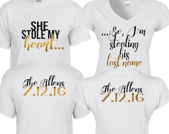 Shes dating the gangster couple shirt design