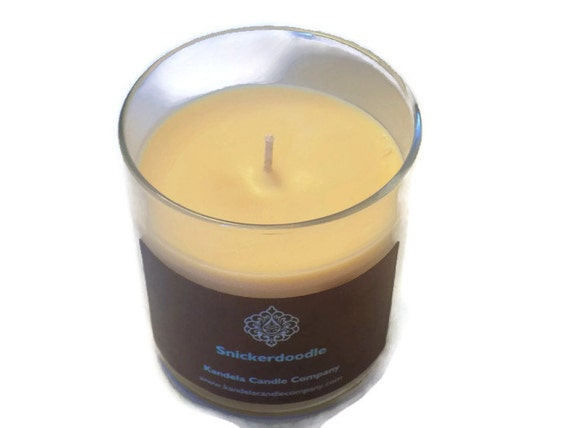 Snickerdoodle Scented Candle in a 13 oz. Straight Tumbler