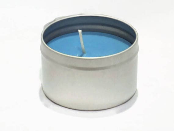 New! Hydrangea Scented Candle in Travel Tin