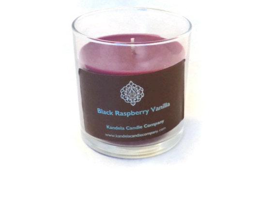 Black Raspberry Vanilla Scented Candle in 13 oz Straight Tumbler