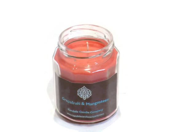 New! Grapefruit and Mangosteen in Twelve Sided Jar