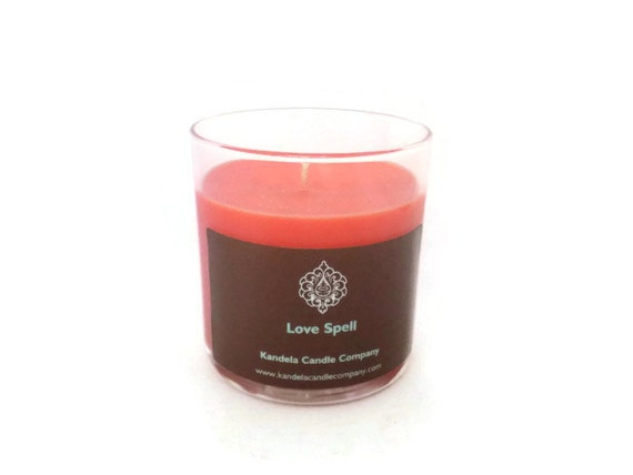 New! Love Spell Scented Candle in 13 oz Straight Tumbler