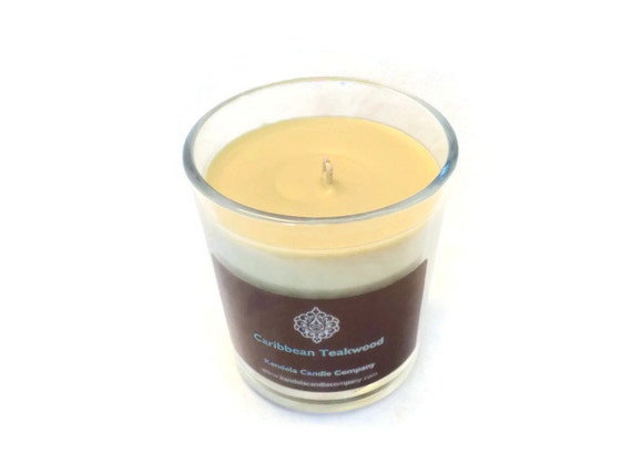 Caribbean Teakwood Scented Candle in Classic Tumbler