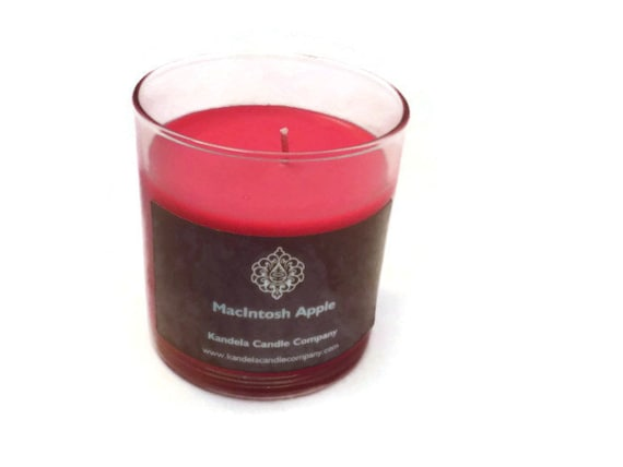 McIntosh Apple Scented Candle in Straight Jar