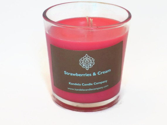 Strawberries and Cream Scented Candle 13 oz. Classic Tumbler Jar