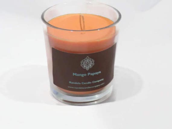 Mango Papaya Scented Candle in Classic Tumbler