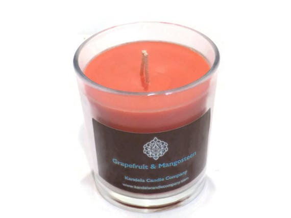 New! Grapefruit and Mangosteen Scented Candle in Classic Tumbler