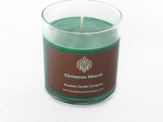 Christmas Hearth Scented Candle in Straight Tumbler