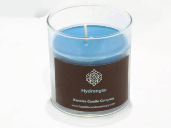 New! Hydrangea Scented Candle in Straight Tumbler