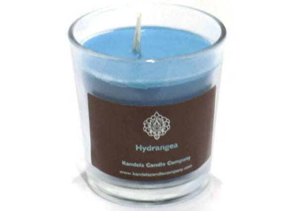 New! Hydrangea Scented Candle in Classic Tumbler