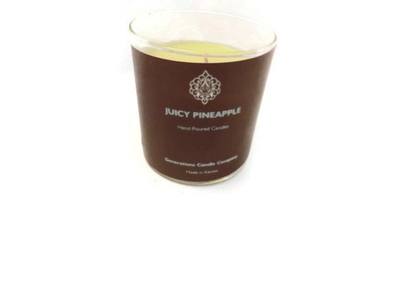 Juicy Pineapple Scented Candle 13 oz. Straight Tumbler