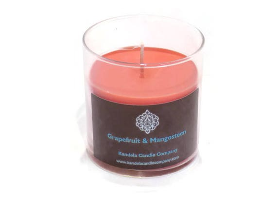 New! Grapefruit and Mangosteen Scented Candle in Straight Tumbler