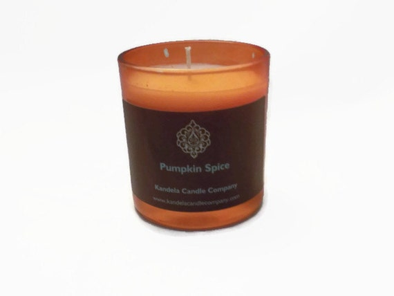 Pumpkin Spice Scented Candle in 7 oz Straight Tumbler