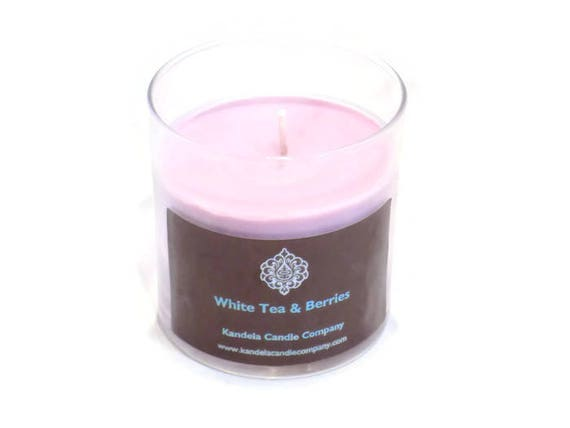 New! White Tea and Berries scented Candle is Straight Jar