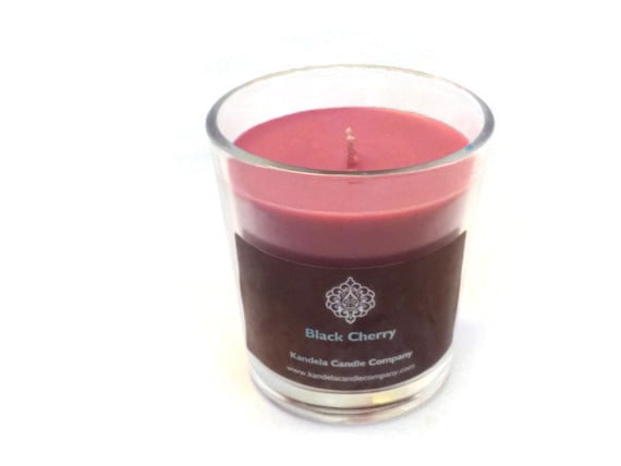 Black Cherry Scented Candle in 13 oz. classic Tumbler Container