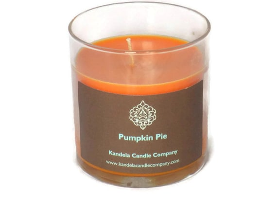 Pumpkin Pie Scented Candle in Straight Tumbler