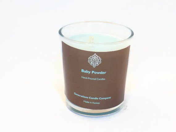 Baby Powder Scented Candle 13 oz. Classic Tumbler