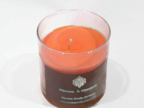 Mimosa & Mandarin Scented Candle in Straight Tumbler