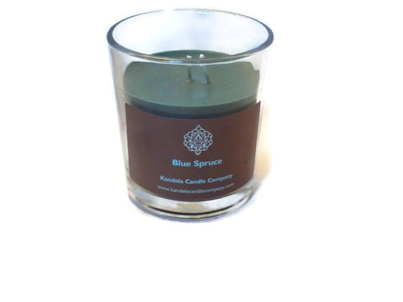 Blue Spruce Scented Candle an a Classic Tumbler