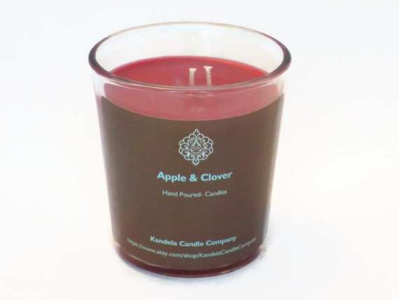 Apple and Clover Scented Candle