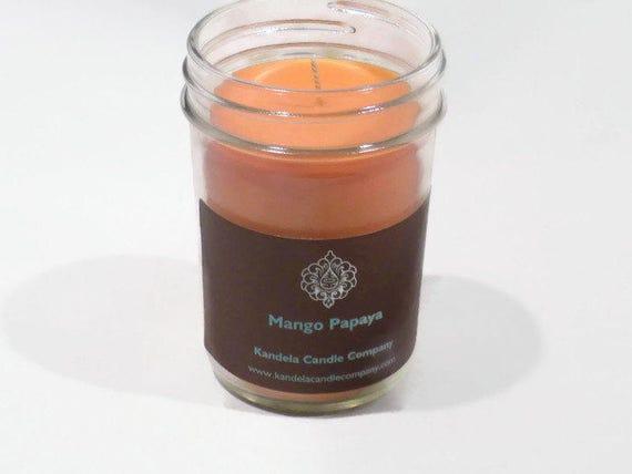 Mango Papaya Scented Candle