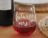 Future Mrs Engagement Gift for Bride to Be, Wedding Planning Gift, Future Mrs Gift Bridal Shower Gift, From Miss to Mrs, Newly Engaged Gift