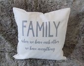 Family Quote Farmhouse Pi...