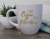 Funny teacher mug, Teache...
