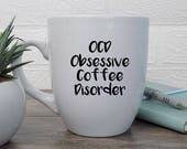 coffee addict, obsessive ...