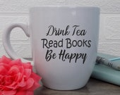 Bookish Tea Mug, Drink Te...