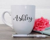 Bridesmaid Mug, Custom Mug, Personalized Coffee Mug, Bridesmaid Proposal Gift, Custom Name Mug, Best Friend Gift for Birthday