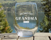 Baby Announcement Grandparents, Promoted to Grandma Pregnancy Reveal to Grandparents, New Grandma Gift for Nana to be, Nana Gift for Grandma