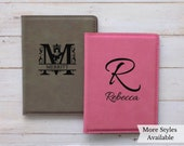 Monogram Passport Holder Travel Wallet, Monogram Passport Cover, Passport Holder Initials Monogram Gifts, Personalized Passport Wallet