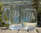 Mr and Mrs Personalized W...