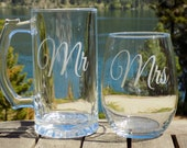 Personalized Gifts for Mr and Mrs, Personalized Gifts for Husband and Wife, Personalized Gifts for Bride and Groom, Wedding Gifts for Couple