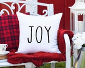 Joy Rae Dunn Inspired Christmas Pillow Cover, Christmas Farmhouse Pillow Covers, Modern Farmhouse Decor, Christmas Pillows, Holiday decor