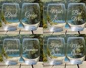 Wedding Wine Glasses for ...