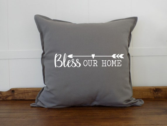Bless Our Home Decorative Pillows For Couch Couch Pillows Etsy Extraordinary Sheffield Home Decorative Pillows