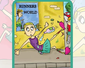 The Clumsy Runner - Training Journal & Pen