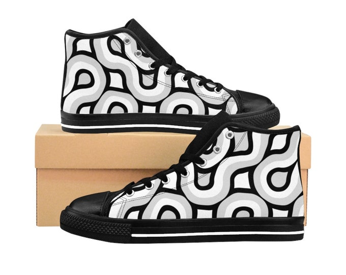 Truchet: Mens HighTop Sneakers