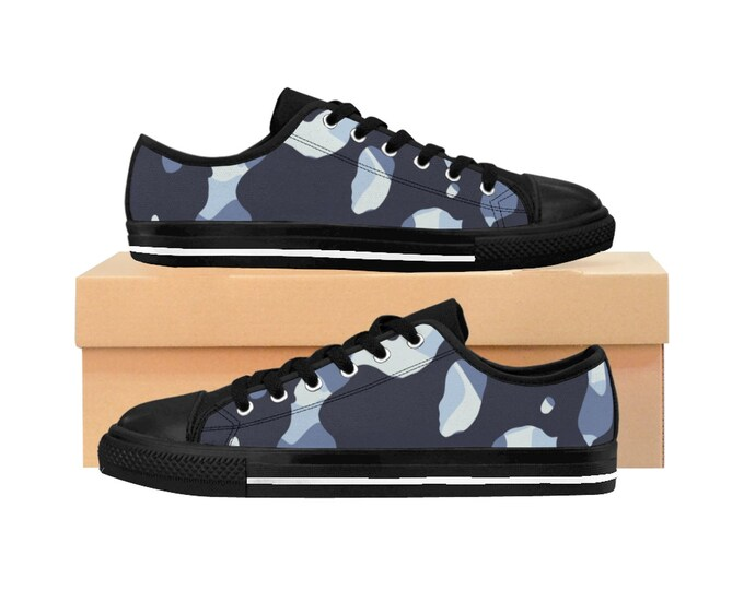 Camouflage blue Sneakers for women