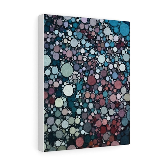 Lunar Sound print on gallery wrapped canvas