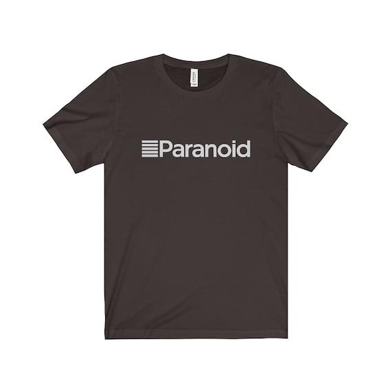 Paranoid unisex Jersey T-Shirt