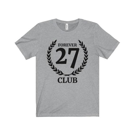 27 club: Unisex Jersey T-Shirt