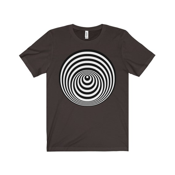 Circles And Lines, unisex TShirt Jersey