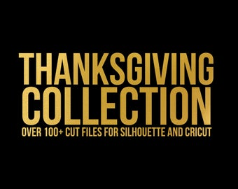 sale // thanksgiving collection // svg dxf file instant download silhouette cameo cricut clip art