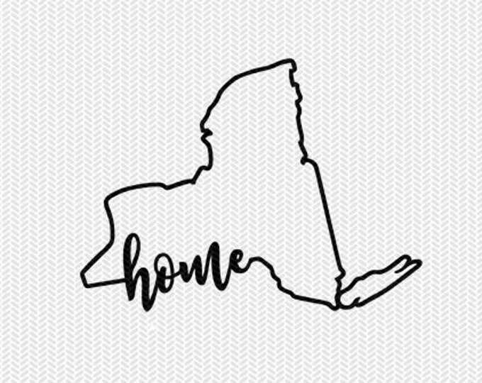 new york home svg dxf file instant download stencil silhouette cameo cricut downloads cut file downloads clip art commercial use