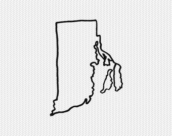rhode island outline svg dxf file stencil silhouette cameo cricut downloads clip art commercial use